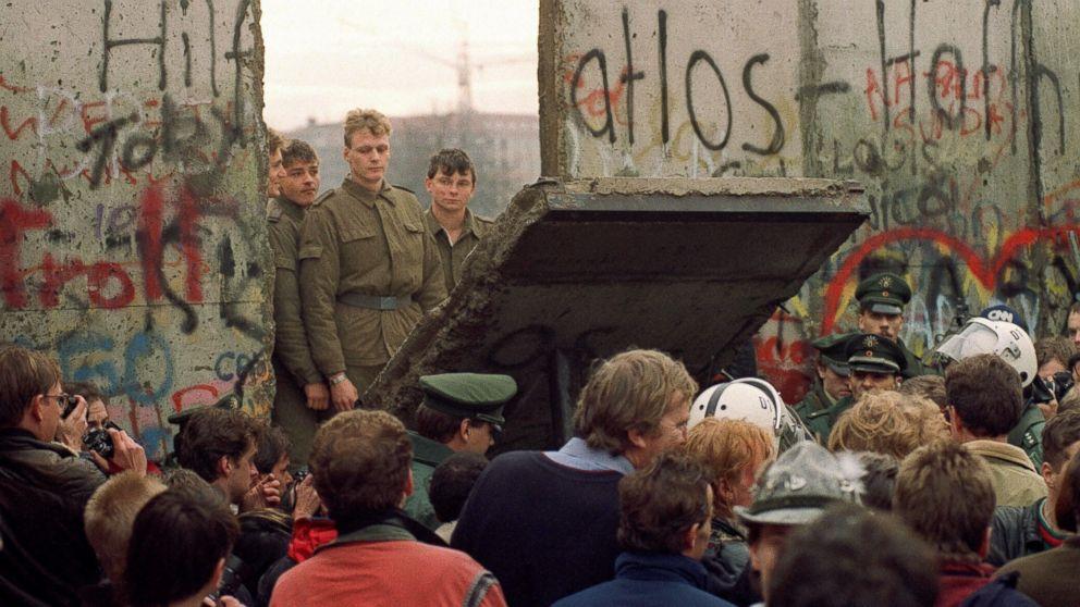دیوار برلین اندازه بزرگ