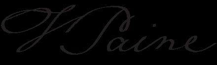 امضای توماس پین