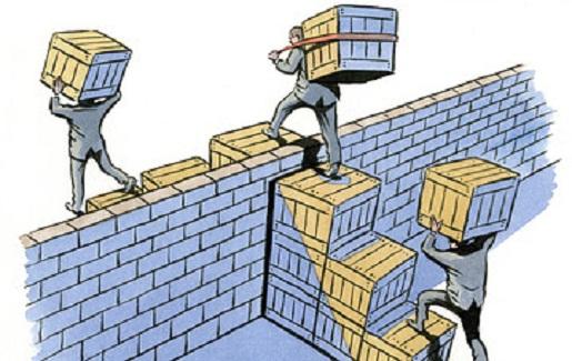 موانع تجاری تعرفه تحریم