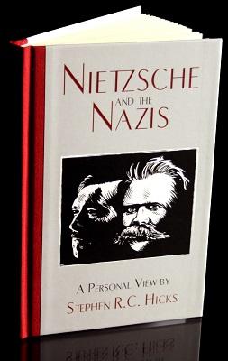 نیچه و نازی ها جلد کتاب انگیسی